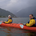 Couple Kayaking in Patagonia