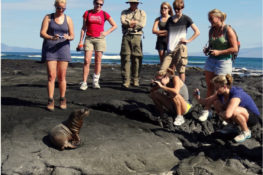 Travelers in The Galapagos Islands