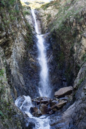 Hike To Waterfalls On Peru Treks